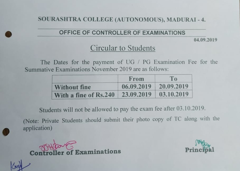 Home | Sourashtra College